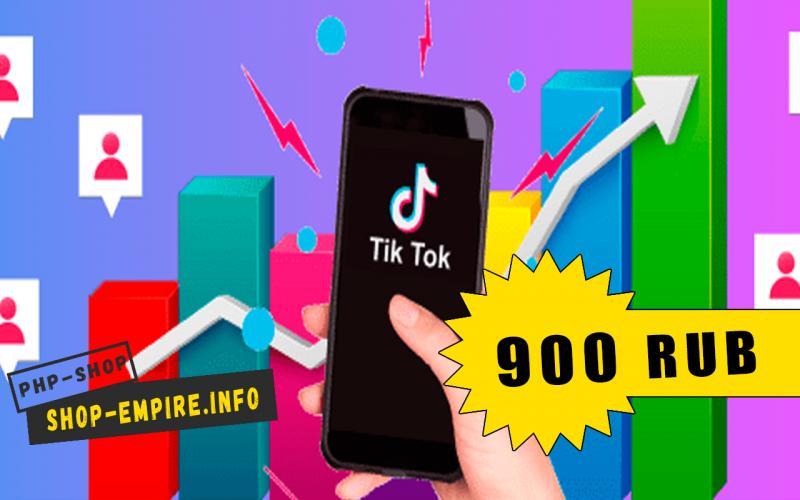 NinjaTok + Crack — cофт для продвижения TikTok
